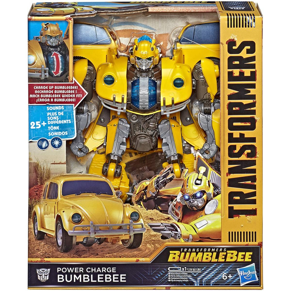 Big W Toys Catalogue Transformers Bumblebee Movie Toys Power Charge Bumblebee Action Figure