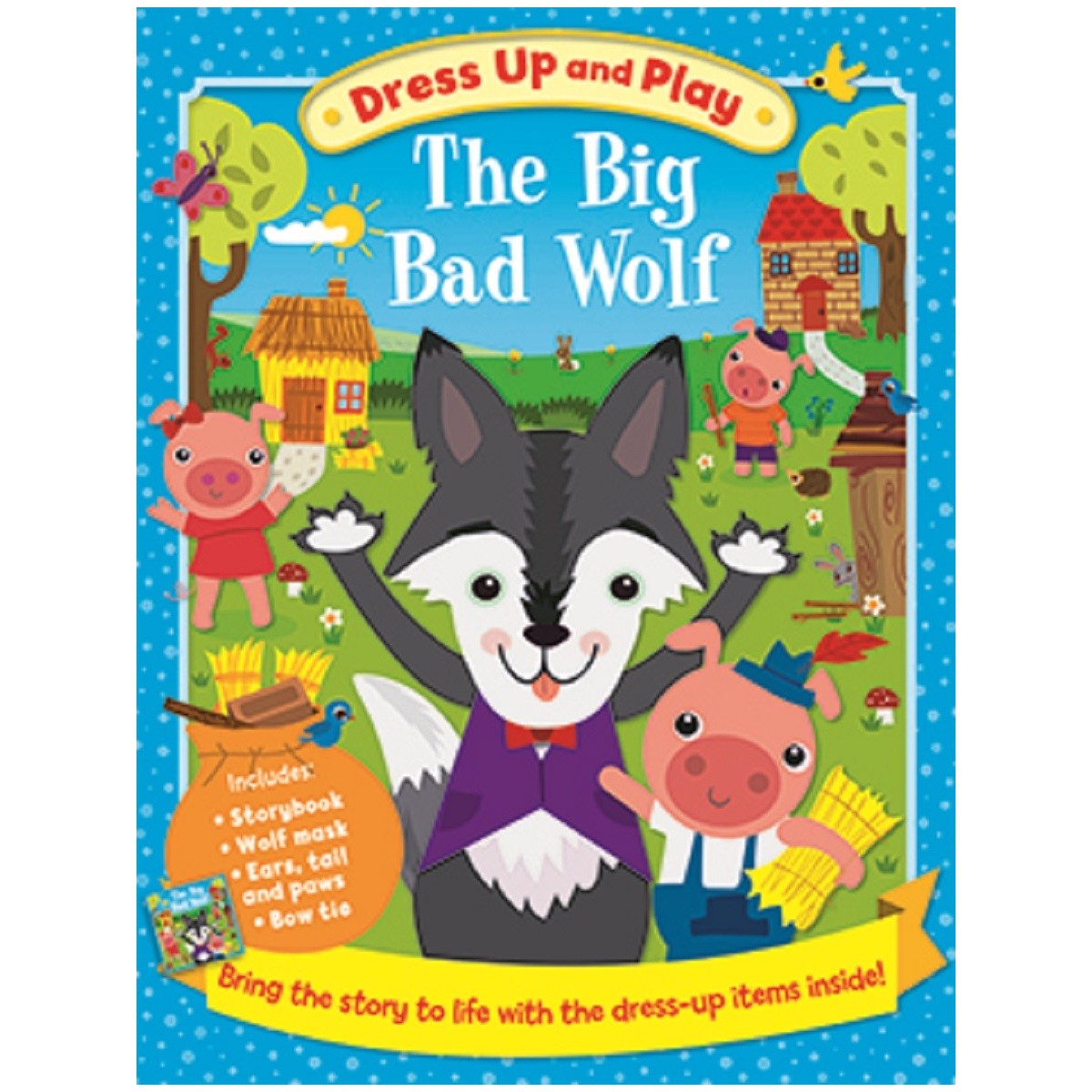 Bad Set Up Synonym The Big Bad Wolf Dress Up And Play Set Big W