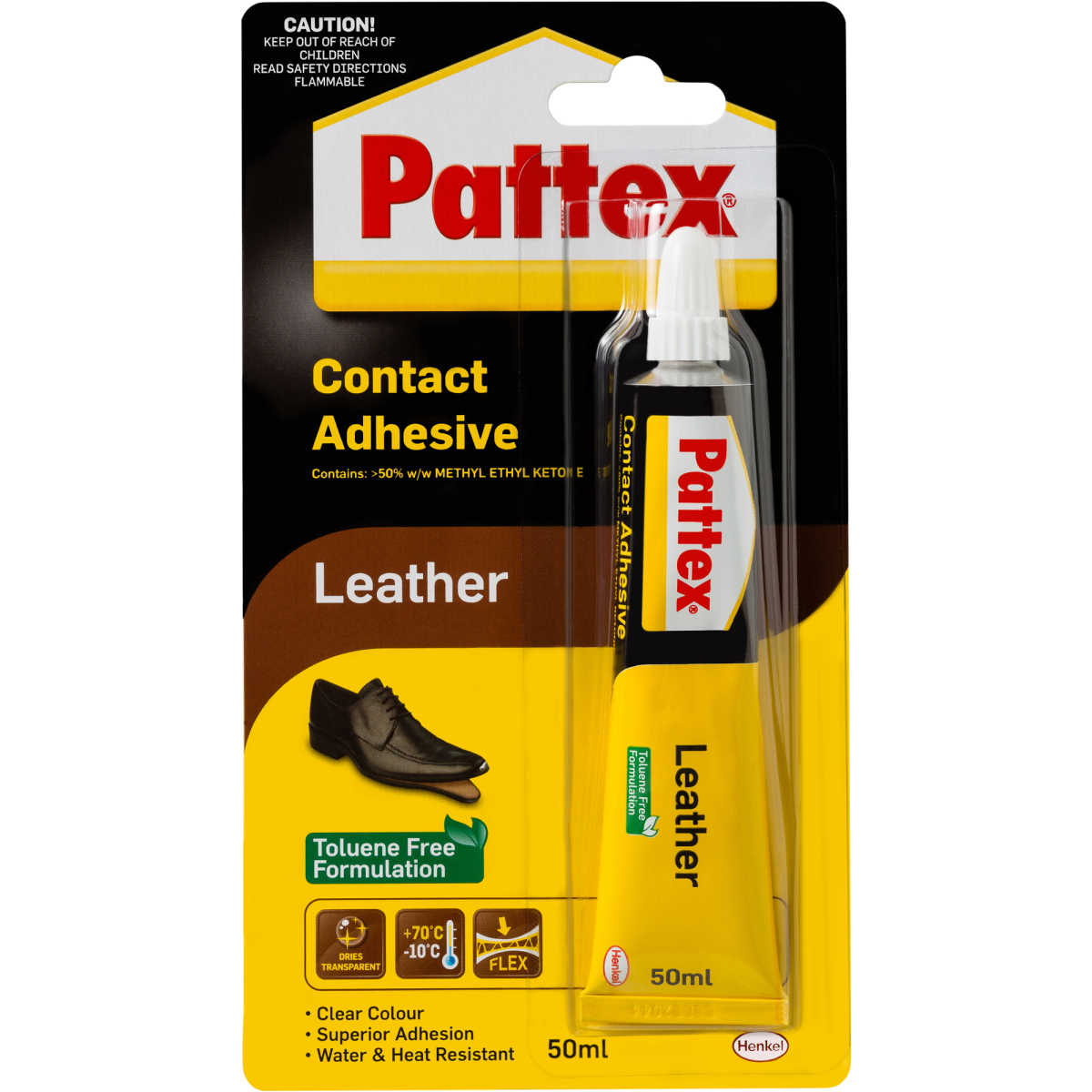 Pattex Kit Pattex Leather Contact Adhesive 50ml