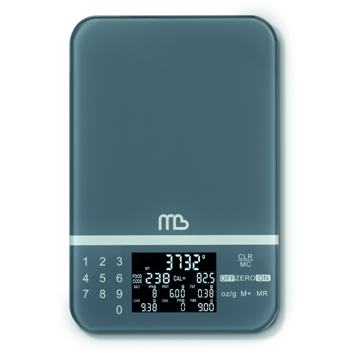 Luggage Scale Big W Mb Active Diet Scale Grey Big W