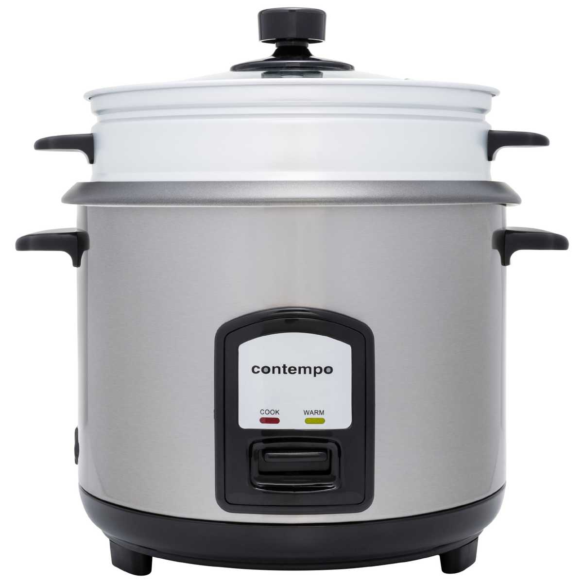 Big W Pressure Cooker Contempo 10 Cup Rice Cooker With Steamer Cfxb 40d