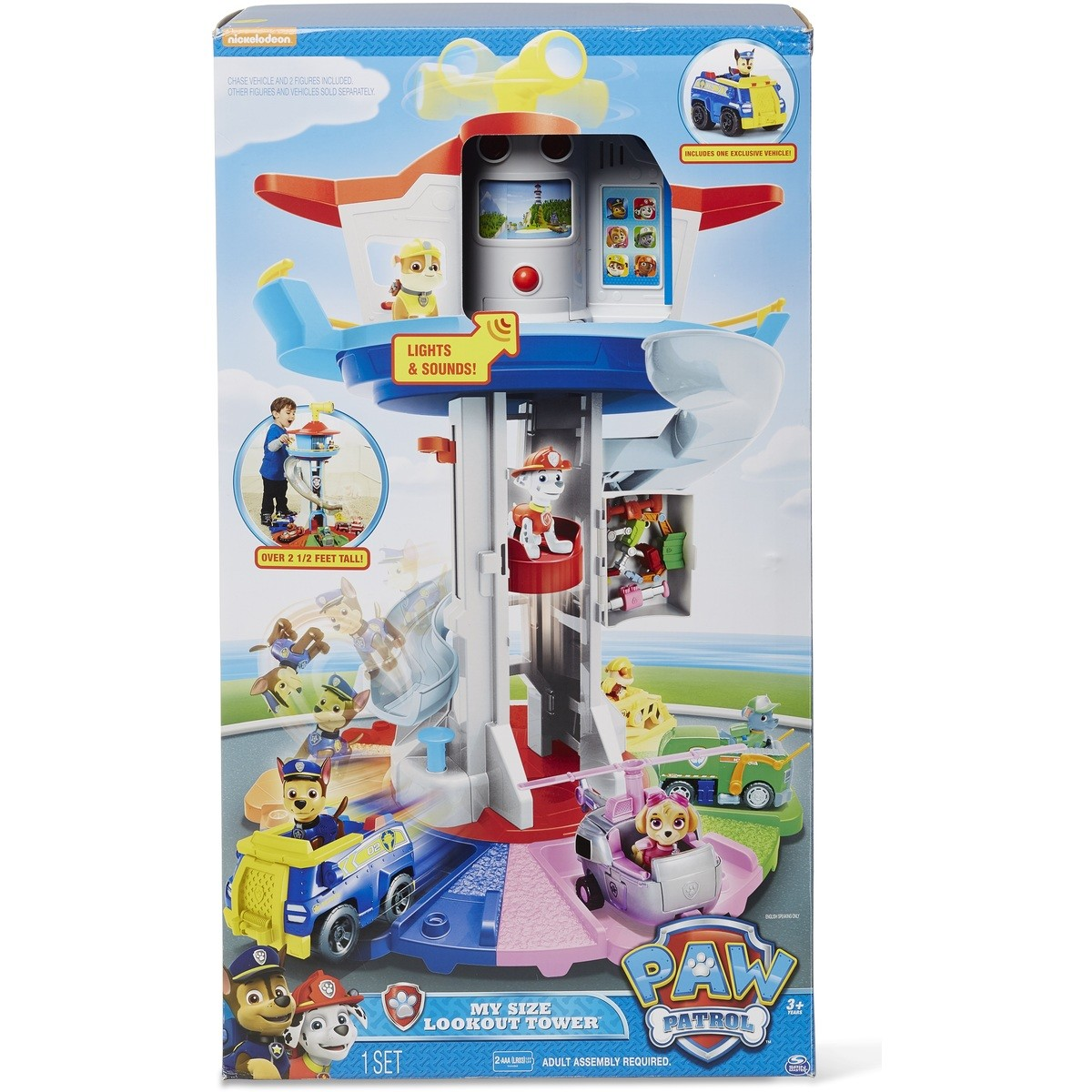Baby Car Seat On Clearance Paw Patrol My Size Lookout Tower Big W