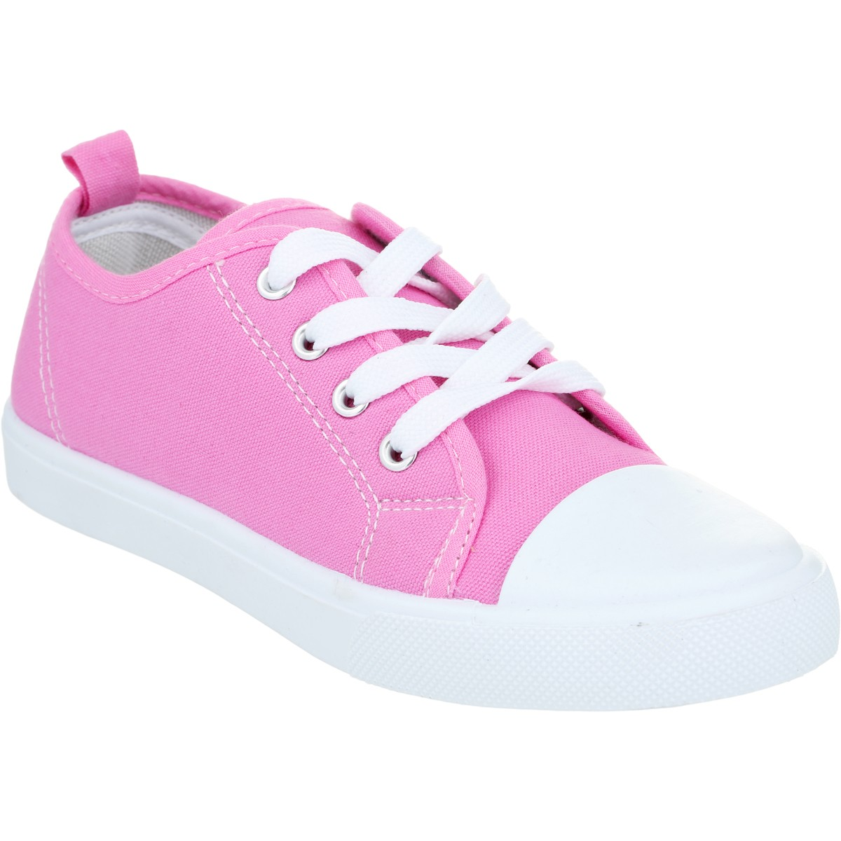 Big W Caps B Collection Girls Casual Sneakers Pink Big W