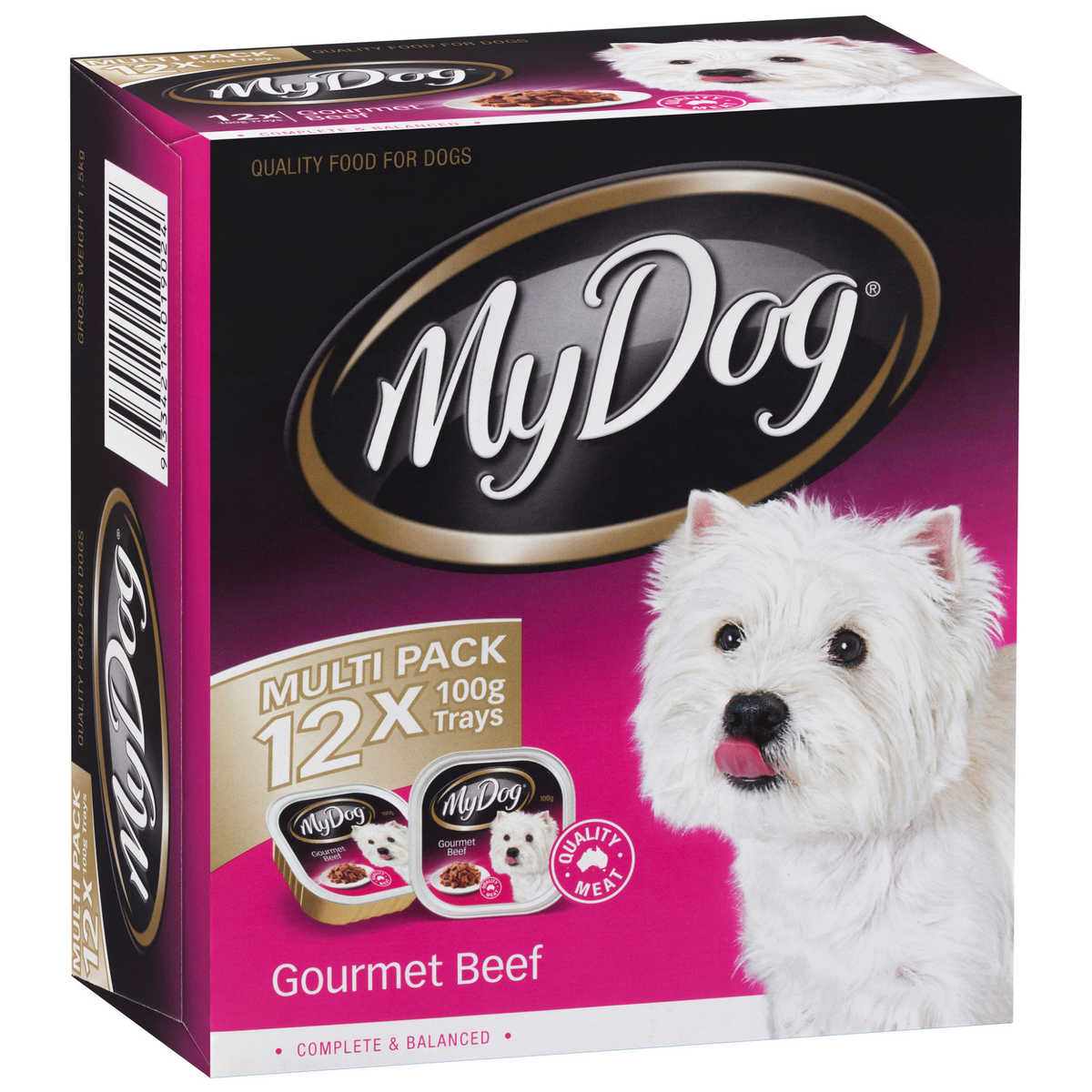 Big W Dog Food My Dog Tinned Dog Food 12 X 100g Gourmet Beef Big W