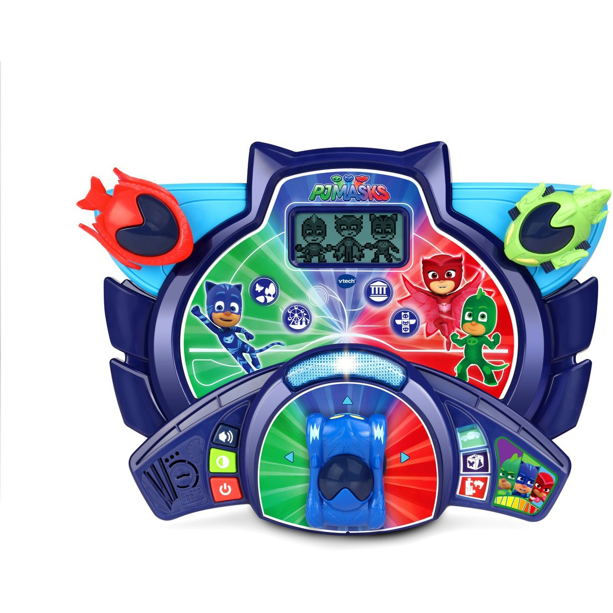 Baby Car Seat Belt Covers Vtech Pj Masks Super Learning Headquarters Big W