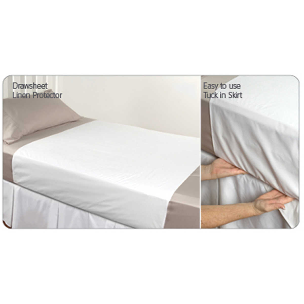 Big W Bed Protect A Bed Cotton Terry Linen Protector White