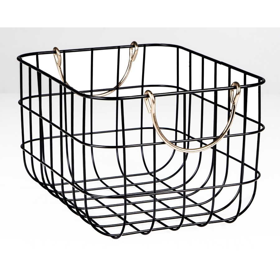 Bike Basket Big W House Home Wire Basket With Copper Handle Big W