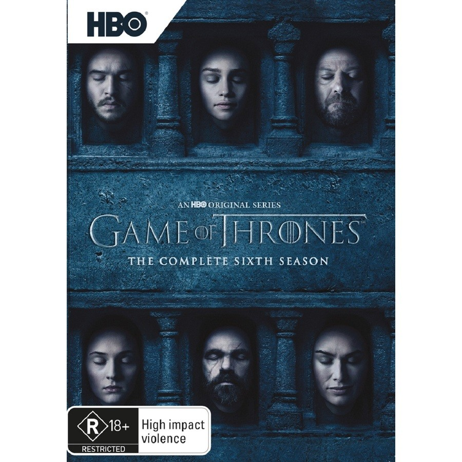 Toddler In Car Entertainment Game Of Thrones Season 6 Dvd Big W