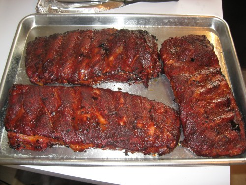 Ribs are done!