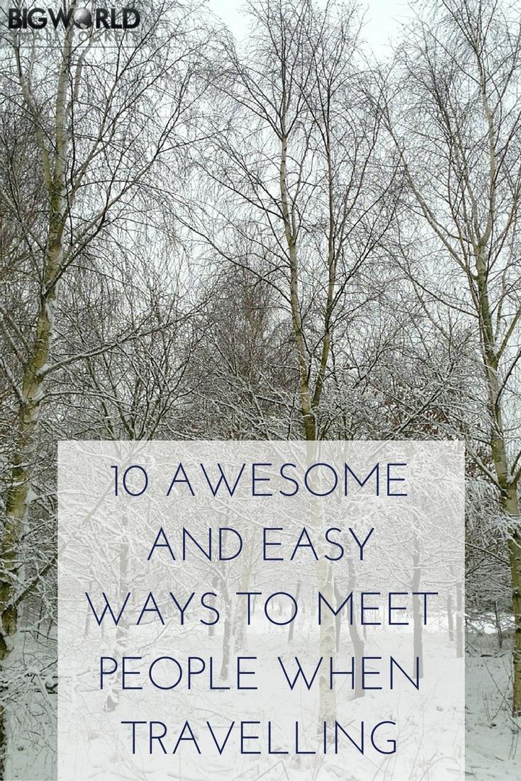 simple way to meet