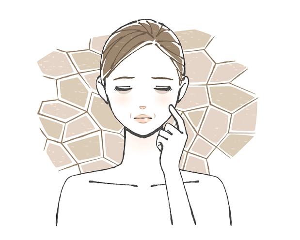 乾燥肌 肌トラブル