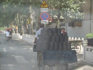 Bicycles-as-trucks-in-Beijing