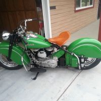 Prairie Green - 1948 Indian Chief