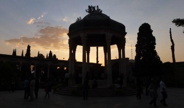 Shiraz - Hafiz mausoleum