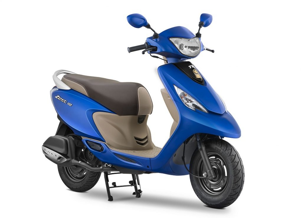 Lamp Apache Launched: 2017 Scooty Zest Price, Pics, Changes, Colours