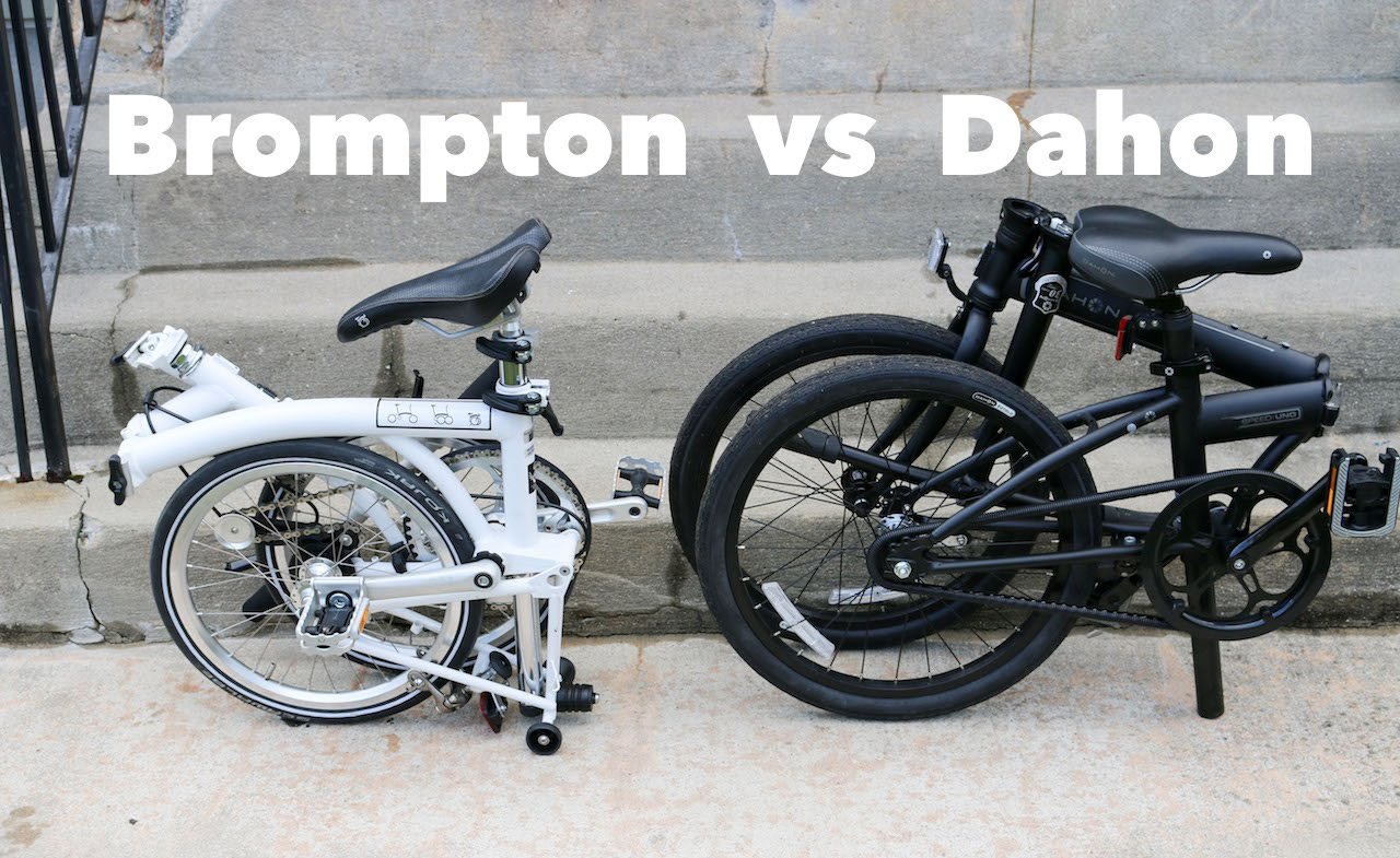 Brompton Bikes Dahon Vs Brompton Which Is The Best Folding Bike Manufacturer