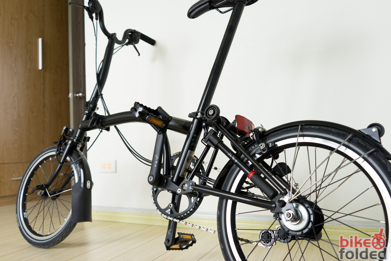 Brompton Bikes Brompton M6l Black Edition Folding Bike Review The Ultimate
