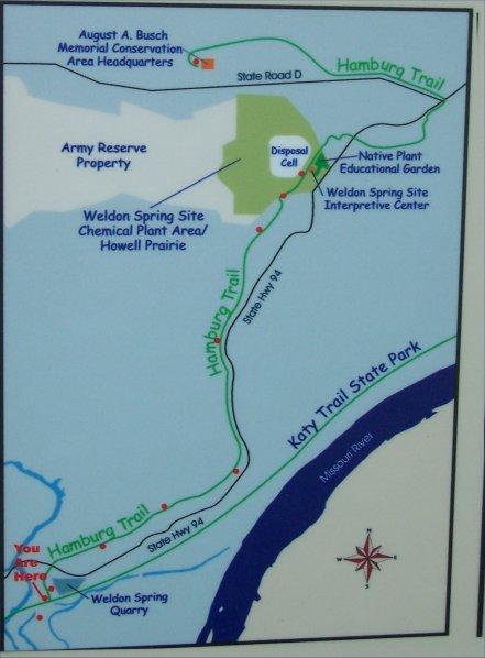 Katy Trail side trails