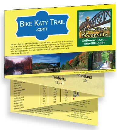 Katy Trail maps
