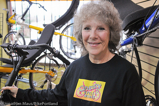 Coventry Cycles Owner, Marilyn H, Powers Thru Head Injury
