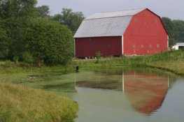2004 Indianapolis Barn_Reflection
