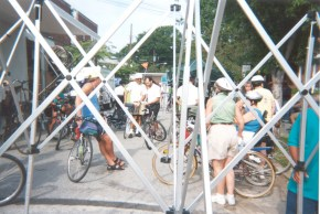 FestivalCyclistsBooths