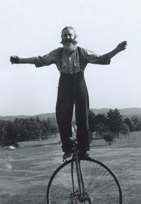 Pop Kramer - 1950's Real Deal 80 yo Trick Cyclist