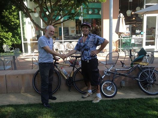 Meeting with Car Free Mayor of America's Bike Capital, Davis, CA