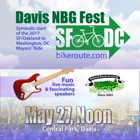 NBG Bike Fest 2017 poster