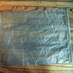 "1. Cut the cloth to 27"" x 20"". Hem the 20"" side."