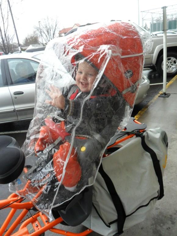 DIY rain cover for Yuba Mundo