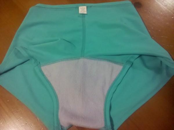 Pedal Panties Inside View: Underwear made for biking