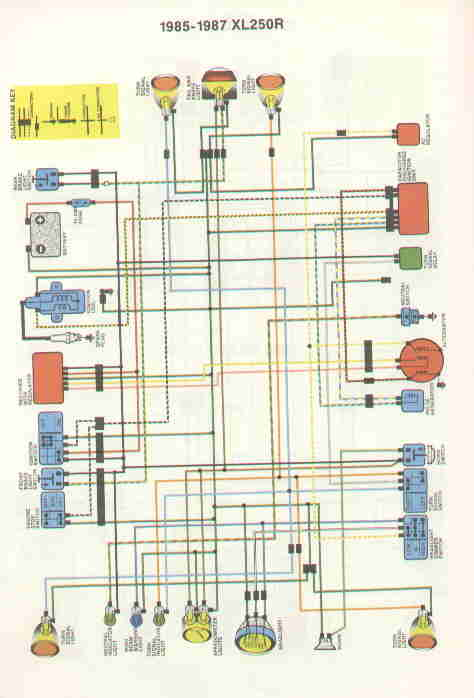 Honda 185 Atc Wiring Diagram Wiring Schematic Diagram