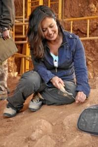 La paleoantropóloga María Martinón-Torres estará hoy en la Biblioteca Bidebarrieta de Bilbao. FOTO: Archivo