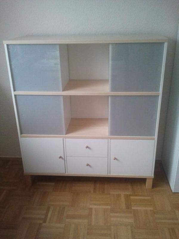 Ikea Sideboard Highboard Schrank Regal Ahorn