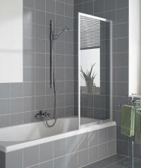 Badewanne Aufsatz Dusche duschkabine Duschvorhang ...