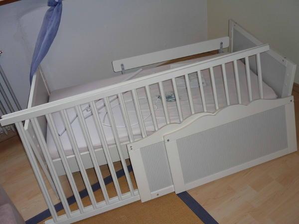 Babybett Juniorbett Umbaubar