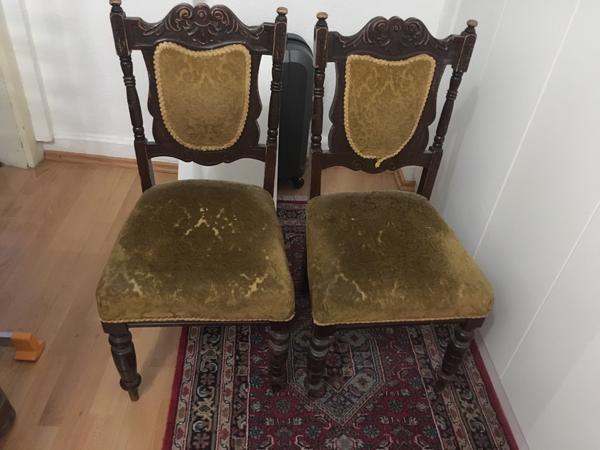 Antike Stühle Metall