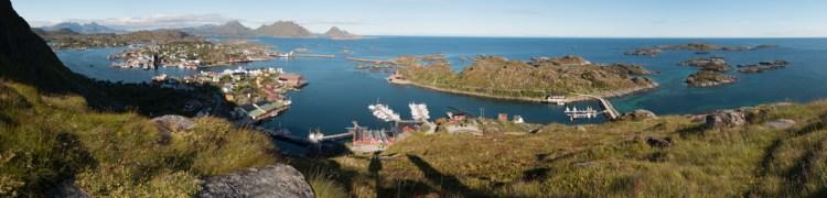 Wandern bei Ballstad: Steil, aber aussichtsreich!