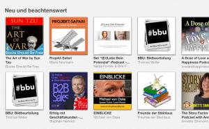 iTunes. Neu und Beachtenswert