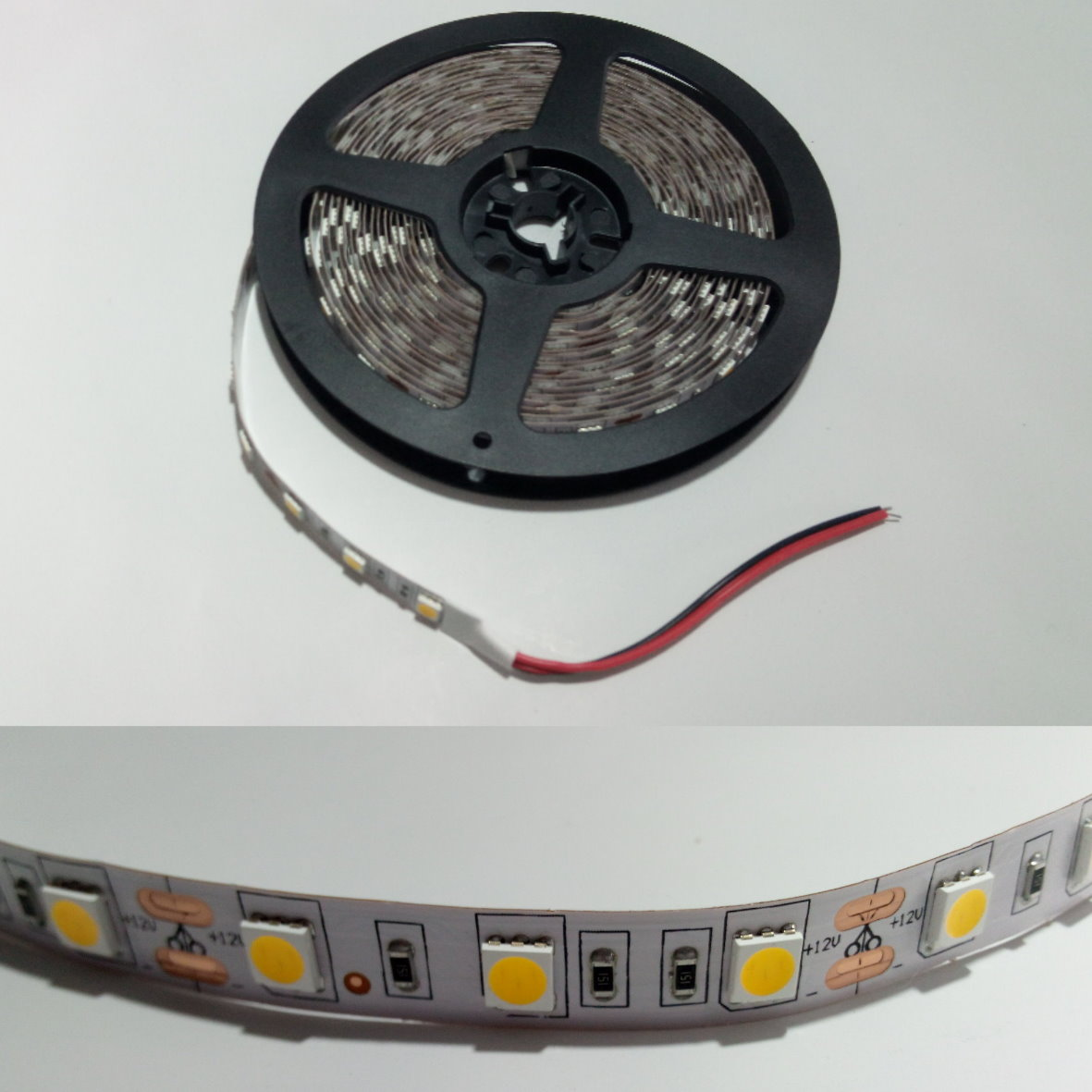 Led 12v Dimmbar Led Stripe 5m 12v Dimmbar 72w 300x5050 Warmweiß