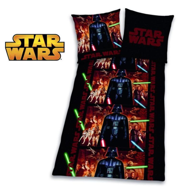 Bettwäsche Starwars Star Wars Bettwäsche Set 135x200 Biber/flanell 468593050