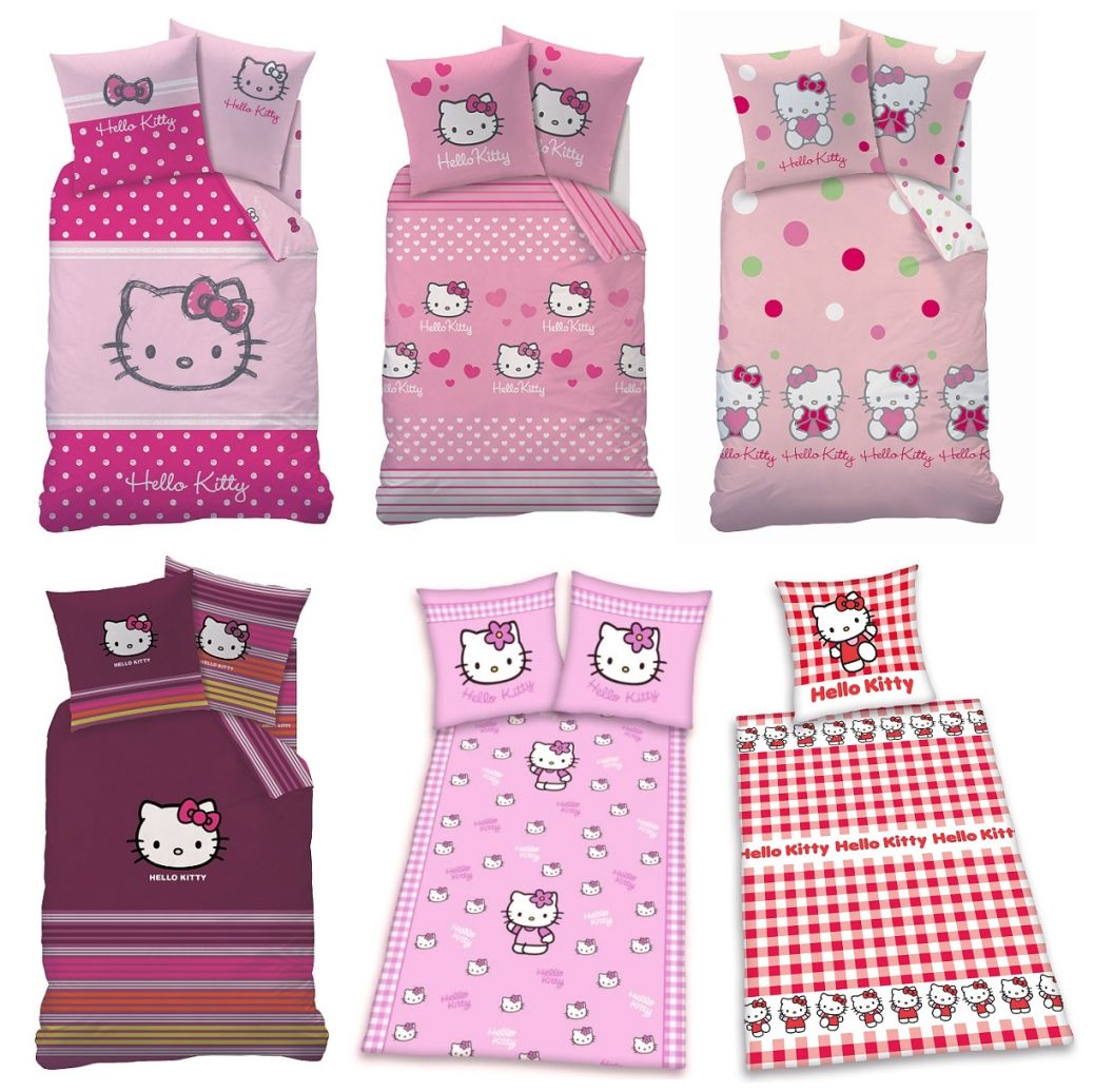 Hello Kitty Bettwäsche Hello Kitty Bettwäsche Set Auswahlangebot 135 X 200 Biber