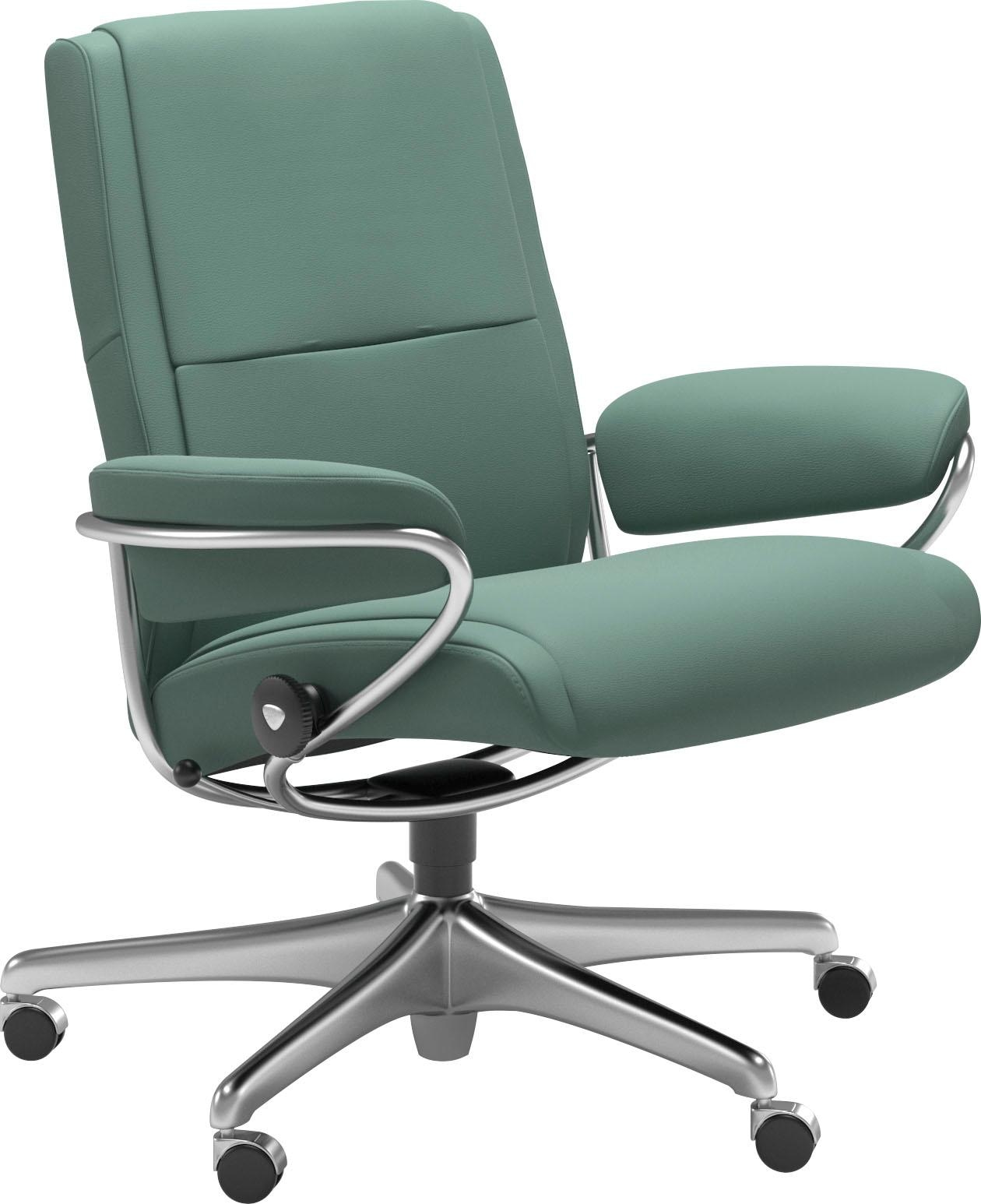 Stressless Relaxsessel Paris Low Back Mit Home Office Base Gestell Chrom Kaufen Baur