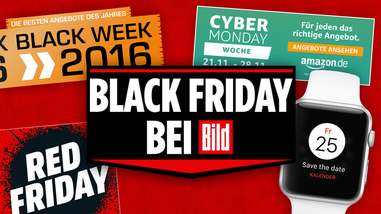 Black Friday Angebot Black Friday 2016 Ticker Digital Bild De