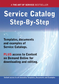 The Service Catalog Step-by-Step Guide - How to Kit includes instant