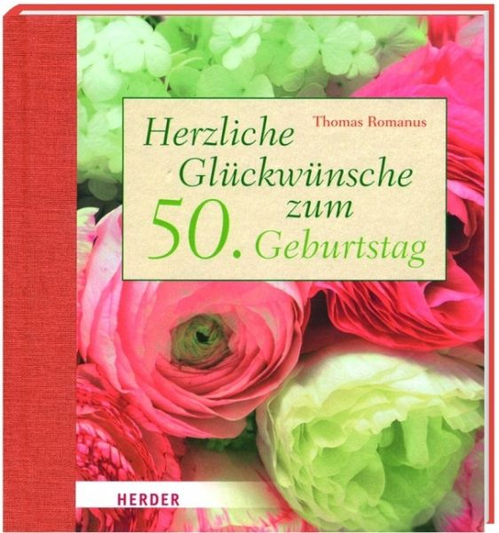 Herzliche Glückwünsche zum 50 Geburtstag von Thomas Romanus
