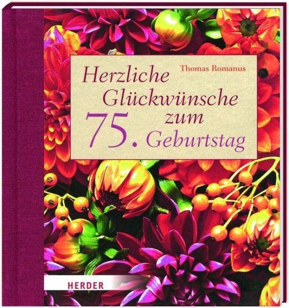 Herzliche Glückwünsche zum 75 Geburtstag von Thomas Romanus