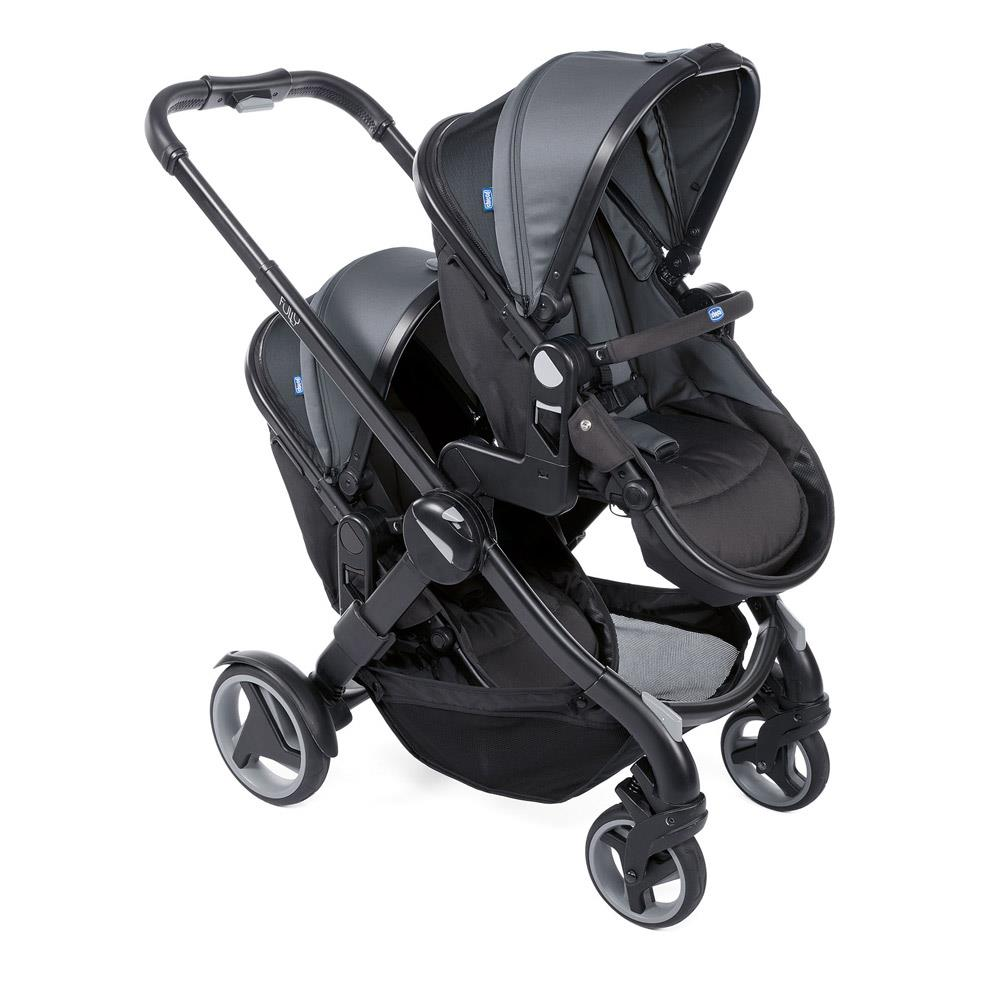 Chicco Kinderwagen 3 In 1 Chicco Twin Buggy Fully Twin Stone