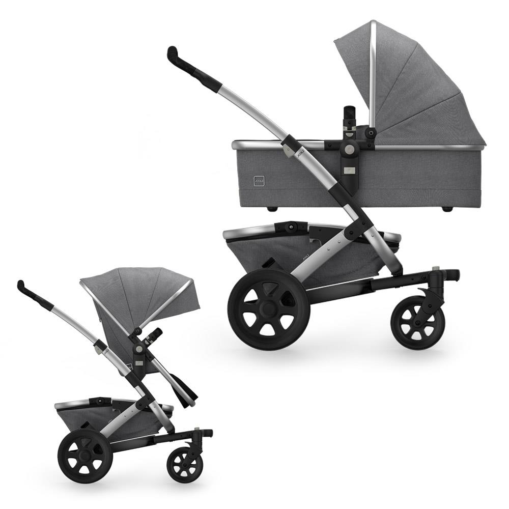 Joolz Stroller Travel Bag Joolz Geo2 Pram With Frame Upper Carry Cot Upper Seat Unit Basket Studio Edition Graphite